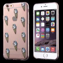 iPhone 6S 6 Szilikon Tok Mintás - RMPACK - Ice Cream Mintázattal