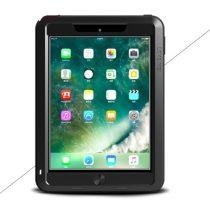 iPad 9.7 (2017) LOVE MEI Tok Ütésálló - Porálló ( Tempered Glass ) Fekete