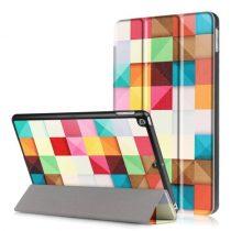 iPad 9.7 (2017) Mintás Slim Tok Tri-Fold RMPACK TF02