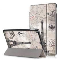 iPad 9.7 (2017) Mintás Slim Tok Tri-Fold RMPACK TF03
