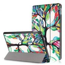 iPad 9.7 (2017) Mintás Slim Tok Tri-Fold RMPACK TF04