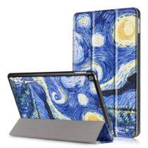 iPad 9.7 (2017) Mintás Slim Tok Tri-Fold RMPACK TF10