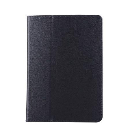 iPad 9.7 (2017) Notesz Tok Mappa - Keretvédelemmel - Kitámasztható Fekete