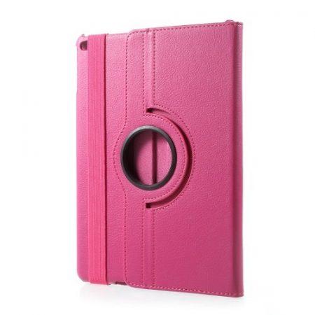 iPad 9.7 (2017) Tok Notesz Forgatható 360  - Kitámasztható Pink