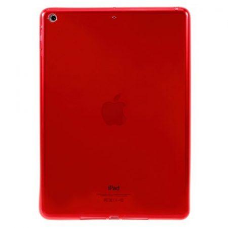iPad 9.7 (2017) Tok Szilikon TPU Soft Piros