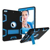 iPad 9.7 (2017) Tok Ütésálló 2in1 Heavy Duty Series RMPACK Kitámasztható Fekete/Kék