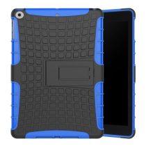 iPad 9.7 (2017) Ütésálló Tok 2in1 Tire Slip Kitámasztható Csúszásgátlókivitel Kék