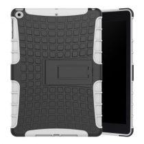 iPad 9.7 (2017) Ütésálló Tok 2in1 Tire Slip Kitámasztható Csúszásgátlókivitel Fehér